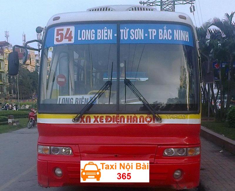 Xe bus đi từ Hà Nội về Bắc Ninh