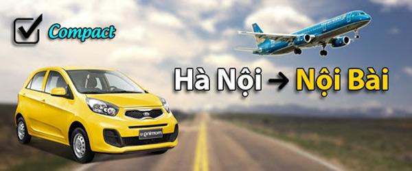 Giá taxi Nội Bài - Hà Nội