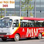 Giá vé, điểm đón trả khách của xe bus Vietjet Air đi Nội Bài