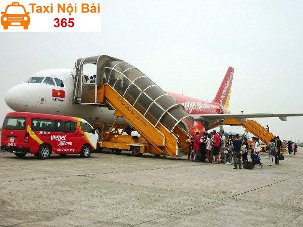 Điểm đón trả khách của hãng xe bus Vietjet Air