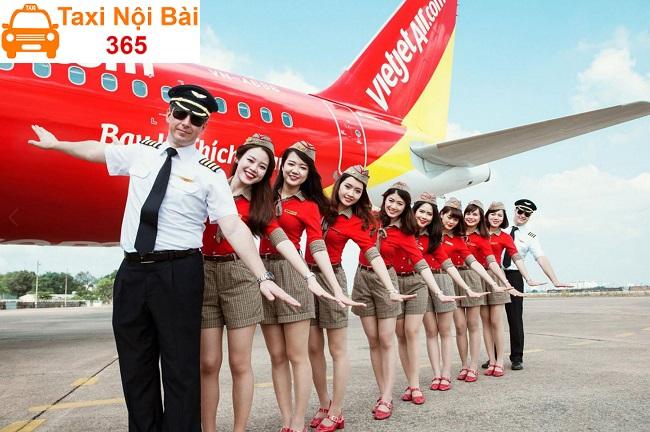 Lộ trình di chuyển xe bus đi Nội Bài của Vietjet Air