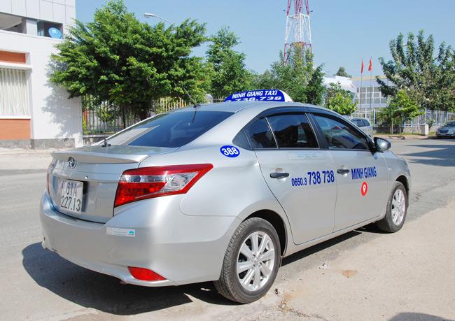 Taxi Minh Giang Bình Dương