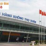 Taxi Sân bay Thọ Xuân – Thanh Hóa trọn gói giá rẻ chỉ 300k