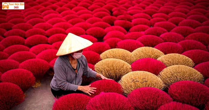 Làng nghề truyền thống tăm hương - Quảng Phú Cầu